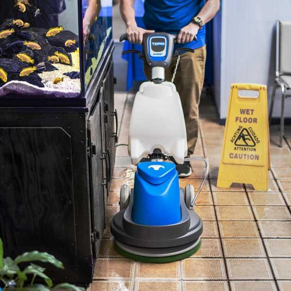 Toro Orbital Floor Machine And Encapsulation Carpet
