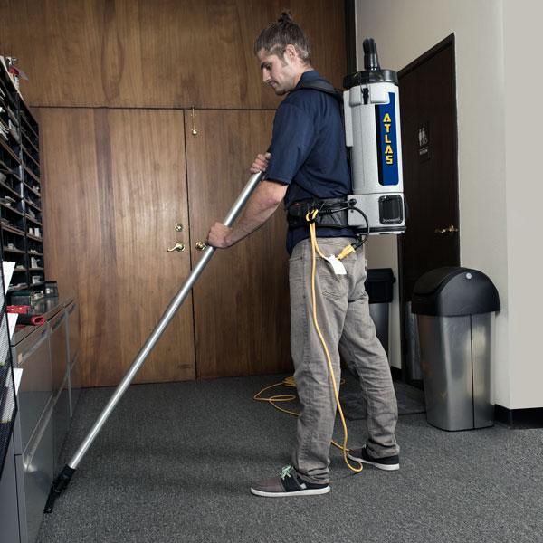 AtlasTM HEPA Backpack Vacuum