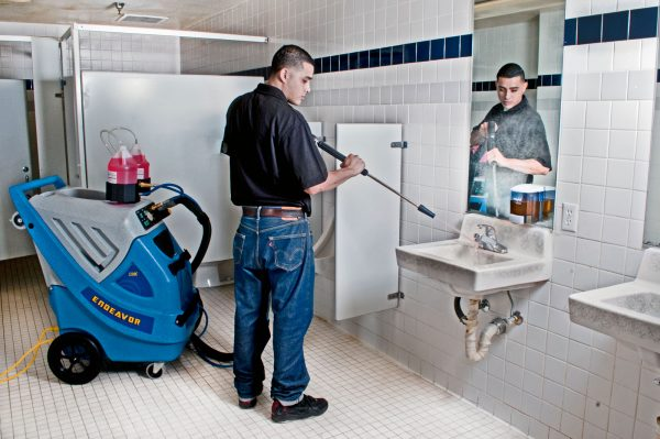 Endeavor Touch-Free Restroom Cleaning